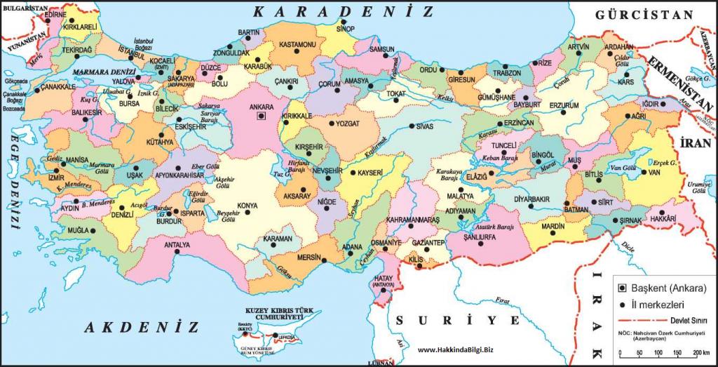 turkiye-haritasi-sehirler